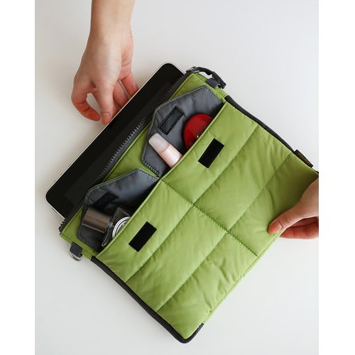 Gadget pouch - Clover by invite.L