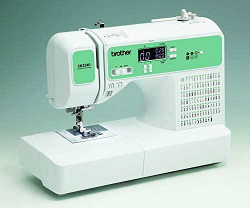 SYS Score 9.3. Brother RXR3240 Renewed Computerized Sewing Machine White