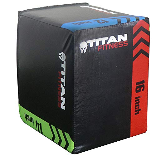 (Titan 3-in-1 Heavy Foam Plyometric Box 12