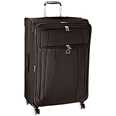 Delsey Luggage Helium Cruise 29 Inch EXP Spinner Suiter Trolley, Black, One Size