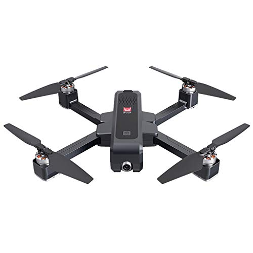 B4W 5G Selfi WIFI FPV GPS Drone Quadcopter With 2K Ultra HD Camera,RC Drone for Beginners,Optical Flow Positioning,Brushless Single-axis Gimbal ,Altitude Hold,Headless Mode,Trajectory Flight (Black)