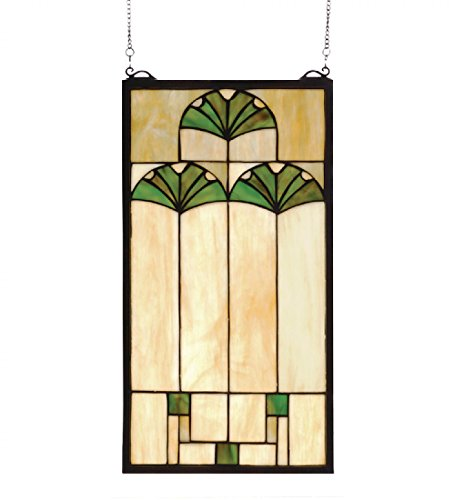 Ginkgo Stained Glass Window - 11