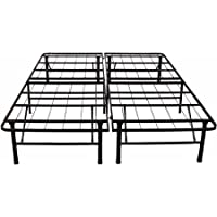 Modern And Stylish Platform Metal Bed Frame Mattress Foundation, Assembly Required - Full Size