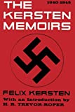 img - for The Kersten Memoirs 1940-1945 book / textbook / text book