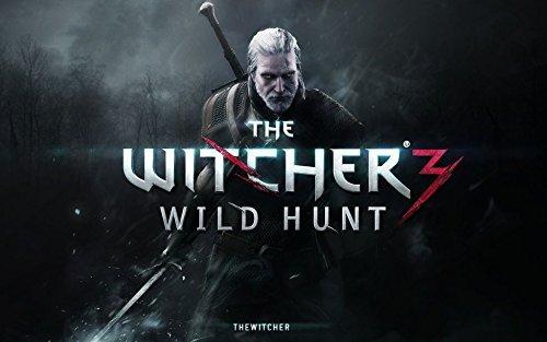 38x24 inch The Witcher 3 Wild Hunt Silk Poster 2GS6-C79