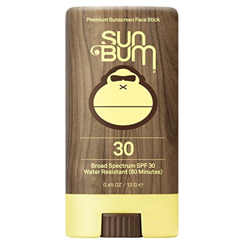 Sun Bum Premium Sunscreen Face Stick SPF 30|Reef Friendly Broad Spectrum UVA/UVB Protection|Light Weight and Water Resistant|Oil Free Facial Sunscreen|.45oz Sunscreen Stick