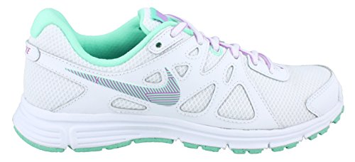 Nike 2 GS White Green Revolution Calzatura rRZxwrH