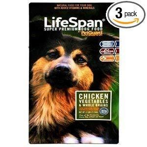 LifeSpan Premium Chicken Dry Dog Food, 8 Pound - 3 per case.
