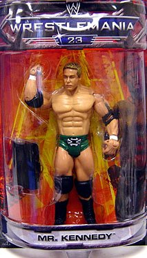WWE Summer Slam Road to Wrestlemania 23 Exclusive Series 3 Action Figure Mr. Kennedy by WWE