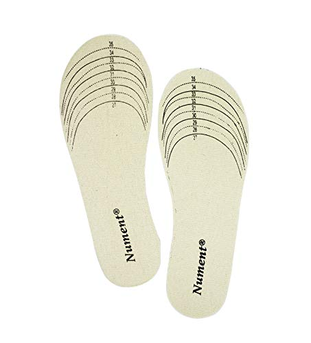 Nument Shoes Insoles for Kids Children Cotton Canvas Shoes Insole Double-Sided Cutting for Spring Autumn Winter Free Cut 1 Pair (Kids Sole Shoes)