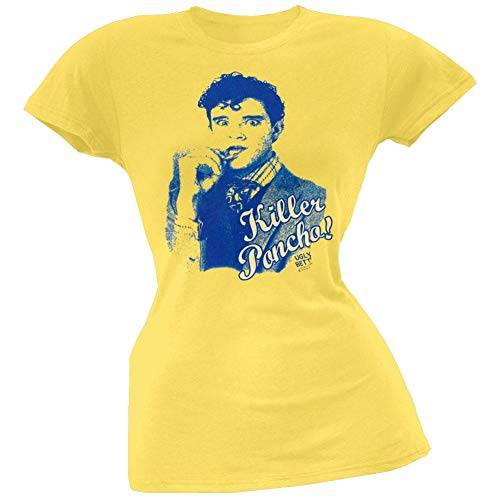 Old Glory Ugly Betty - Womens Killer Poncho Juniors T-Shirt Large Yellow]()