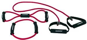 Hudora Fitness-Expanderset 3-teilig, rot