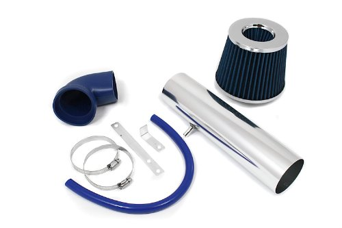 97 98 99 00 01 02 03 04 Jeep Cherokee, Grand Cherokee, Laredo L6 4.0L Short Ram Intake Blue (Included Air Filter) #SR-JP-3B