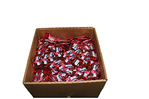Airheads Candy Bulk Box, Individually Wrapped Mini Bars, Cherry, Non Melting, Party, 25 Pounds