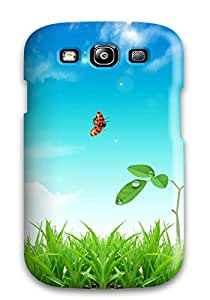 EnjoyTime Scratch-free Phone Case For Galaxy S3- Retail Packaging - Fresh