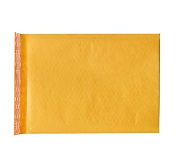 250 Qty. #0 Bubble Mailers - Brown Kraft 6 x 10