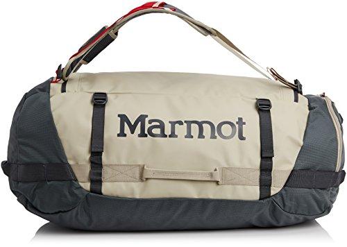 Marmot Reisetasche Long Hauler Duffle Large, Sandstorm/Slate Grey, 32 x 73 x 32 cm, 74 Liter, 26820-9681