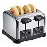 Hamilton Beach 24790C 4 Slice Classic Chrome Toaster