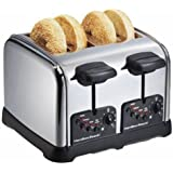 Hamilton Beach Classic Chrome 4 Slice Toaster (24790)