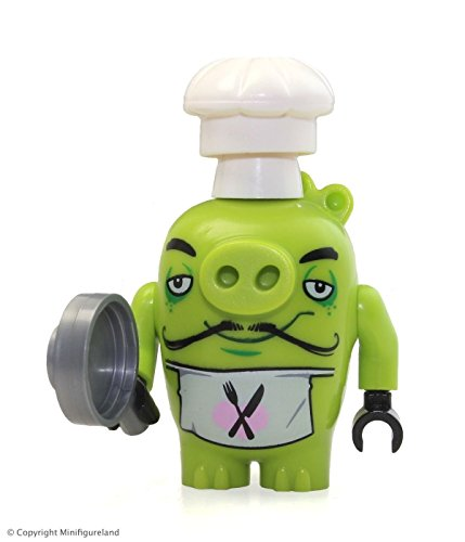 LEGO The Angry Birds Movie MiniFigure - Chef Pig (Piggy) w/ Frying Pan 75826