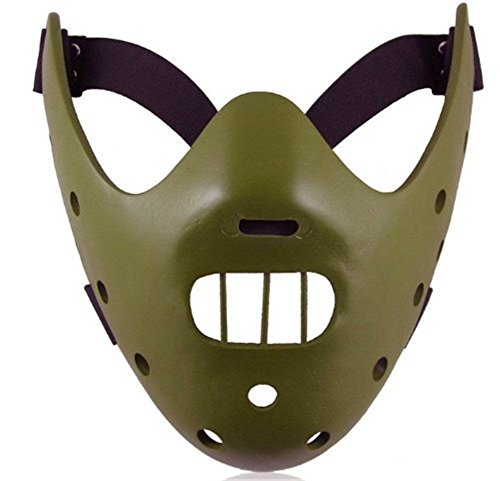 Hannibal Mask (Hannibal Lecter Mask Silence of the Lambs Cool Cosplay Props Halloween Horror Mask)