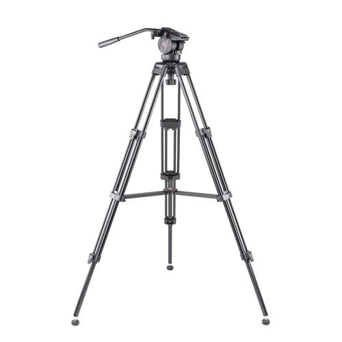 2 Way Head - 3Pod V3AH Anodized Aluminum Video Tripod with 2-way Fluid Head and Quick-Release Plate