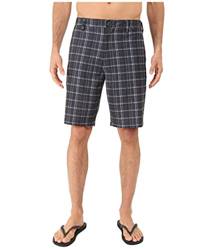 [Hurley Men's Phantom Davis Walkshorts Black Shorts] (Hurley Black Belt)