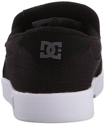 DC Men's Villain TX Slip-On Skate Shoes Black order online discount countdown package footlocker pictures for sale TgeYi