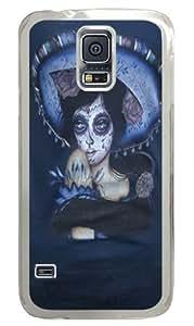 Blue Sombrero Custom Samsung Galaxy S5/Samsung S5 Case Cover Polycarbonate Transparent
