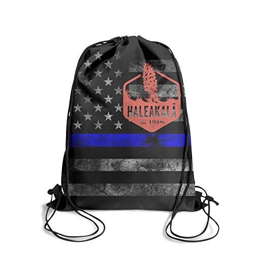 HaleakalÄ National Park Unisex Drawstring Tote Personalized Waterproof Travel Sports Backpack