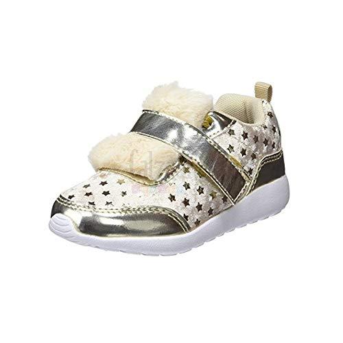 Zapatillas de Terciopelo con Luces para niña de Osito by Conguitos - Oro, 26: Amazon.es: Zapatos y complementos