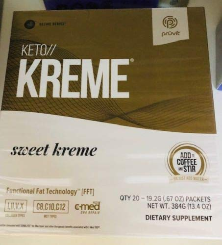 KETO//KREME 2 0 with Functional Fat Technology FFT, MCT Oils for Brain  Boost, Reduce Joint Pain and Inflammation, Improve Digestive and Gut  Health,