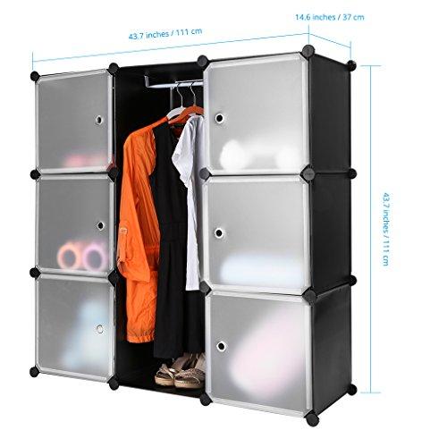 Langria 9 Cube Diy Storage Drawer Unit Multi Use Modular