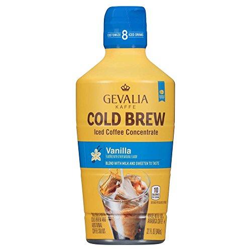Gevalia Cold Brew Vanilla Iced Coffee Crowd, 32 oz