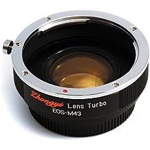 Mitakon Zhongyi Lens Turbo Adapter for Canon EF - M43 - Micro Four Thirds Camera, Version II (M43 / MFT)