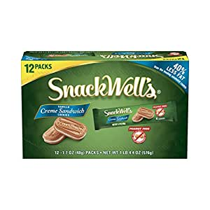 SnackWell's Crème Sandwich Cookies, Vanilla, 12 Count