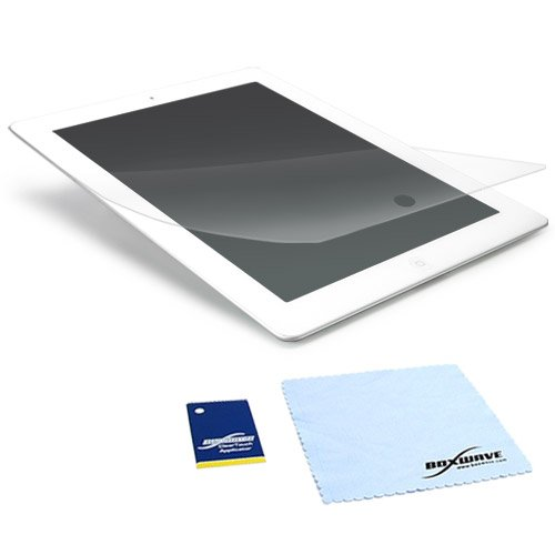 Ipad 3 Screen Overlay (iPad 2 Screen Protector, BoxWave® [ClearTouch Crystal] HD Crystal Film Skin to Shield Against Scratches for Apple iPad 2, 3)