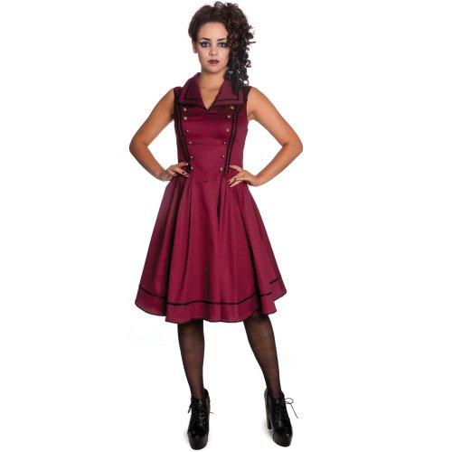Dress Spin Doctor Nastasya Burgundy Dell'abito grq7qwfI