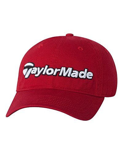 Taylormade Relaxed Cap (TaylorMade Tradition Hat (Red, One Size))