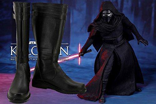 Star Wars: Kraften Väcker Filmen Kylo Ren Cosplay Shoes Sith Cosplay Stövlar Nya Stilen Mer Information