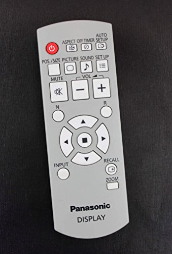 Original Panasonic N2QAYB000535 Plasma TV Display Remote Control for Models TH-42LF20 TH-42LF20U TH-42PH20 TH-42PH20U TH-42PH30 TH-42PH30U TH-47LF20 TH-47LF20U TH-50PH20 TH-50PH20U TH-50PH30