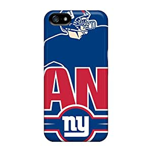 Durable Protector Case Cover With New York Giants Hot Design For Iphone 5/5s