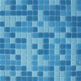 Blu Elettrico Tile 327x327x4mm, Glass Blue/Purple Lugano Mosaics Tiles, Per Sheet