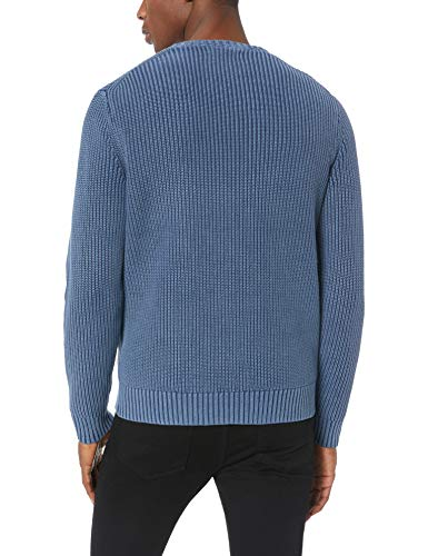 Goodthreads Con Navy In Lana Zip Uomo Maglione washed Blue Merino PrFTqxPw