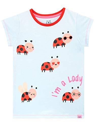 Harry Bear T-shirt voor meisjes met lieveheersbeestje