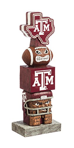 Team Sports America NCAA Texas A&M Aggies Tiki Totem