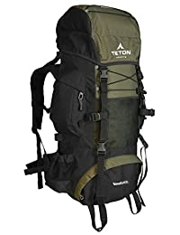TETON Sports Scout 3400 Internal Frame Backpack; Free Rain Cover Included