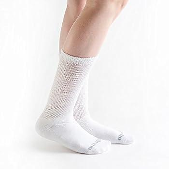 Doc Ortho Ultra Soft Loose Fit Diabetic Socks, 3 Pairs, Crew