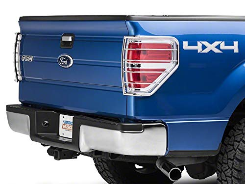 Modern Billet Tail Light Guards – Stainless Steel – for Ford F-150 Styleside (Excluding Raptor) 2009-2014