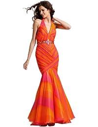 Halter Mermaid Prom Dress 1373